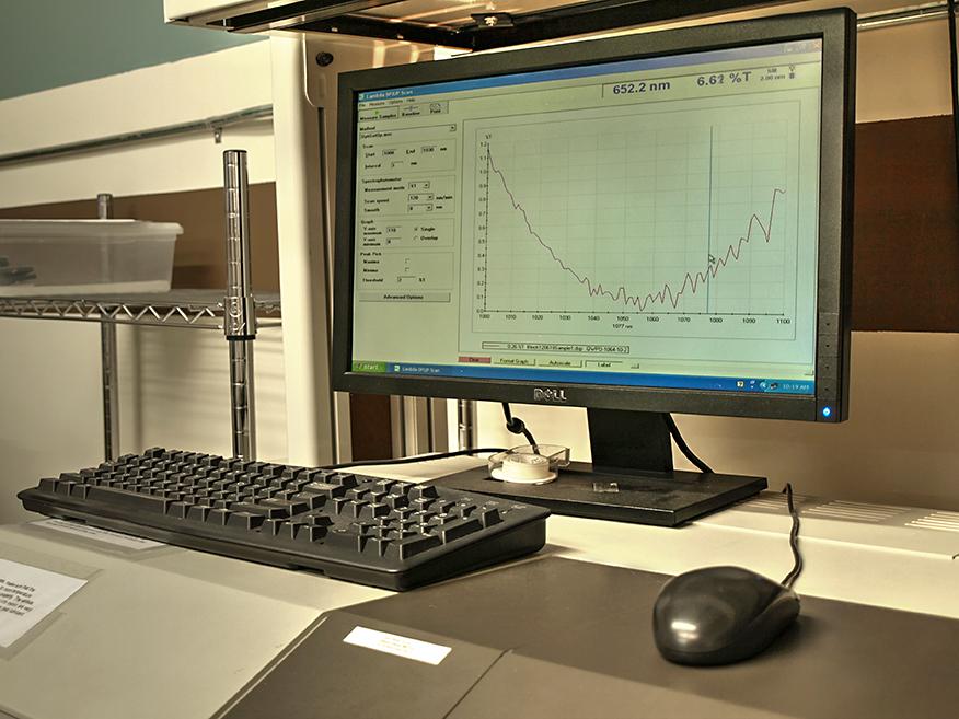 Perkin-Elmer Lambda 19 Spektralphotometer