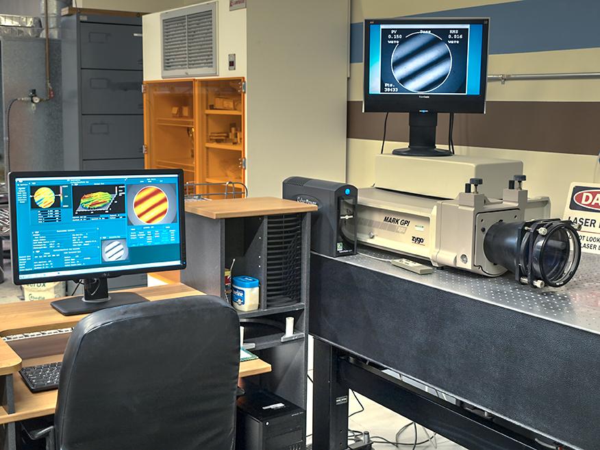 Zygo Corp. Markieren Sie das GPI-Phasenverschiebungsinterferometer